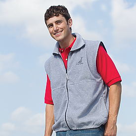 FULL ZIP VEST FLEECE