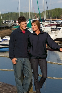 QUARTER ZIP PULLOVER FLEECE